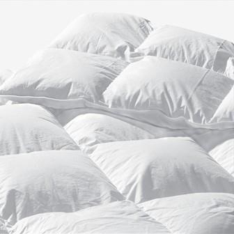 Miss Lyn Duck Down / Feather 13:87 Extra Thick Duvet Inners White Extra Thick - 100% Cotton Downproof