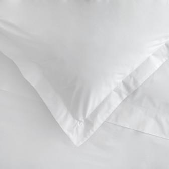 Miss Lyn Plain Oxford Pillowslips White 200 Thread Count, 100% Cotton Percale