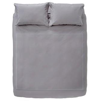 Miss Lyn Multi Satin Duvet Covers Grey 200 Thread Count, 100% Cotton Percale