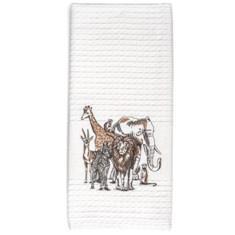 Miss Lyn Big Five Tea Towels White Waffle Weave