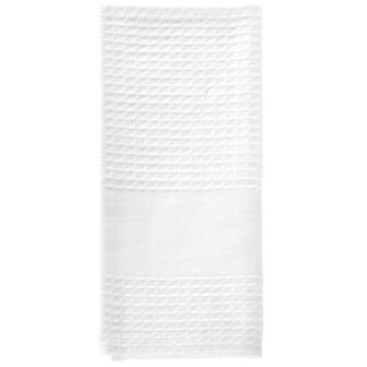 Miss Lyn Plain Tea Towels White Waffle Weave