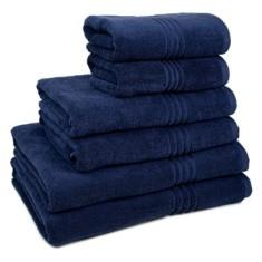 Miss Lyn Miss Lyn Hotel Collection Towels Navy 100% Cotton